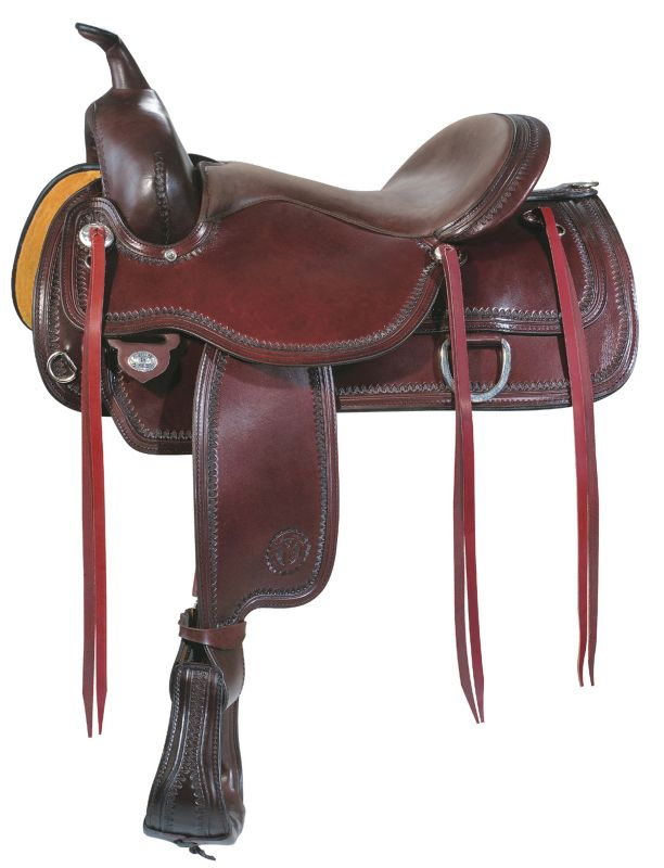 Circle Y Flex2 Topeka Trail Saddle 17 Reg