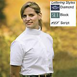 Ladies Starter Show Shirt w/Monogram