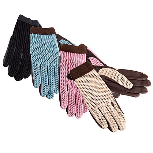 Lycra Flex Gloves Natural/Brown