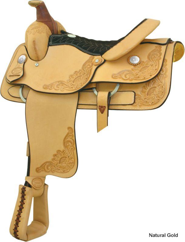 Billy Cook Saddlery Roping Saddle Natural Gold