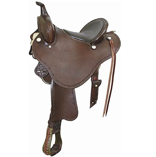 Billy Cook Saddlery Stealth Endurance Saddle 15 In