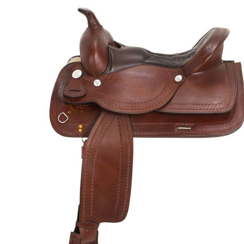 royal king auto adjust flex trail saddle 15.5in ch on lovemypets.com