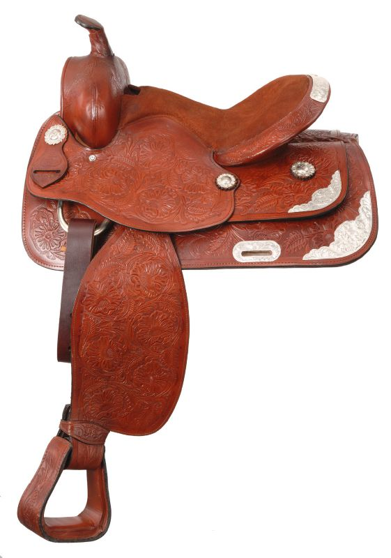 King Lancaster Western Show Saddle 15 L Oil