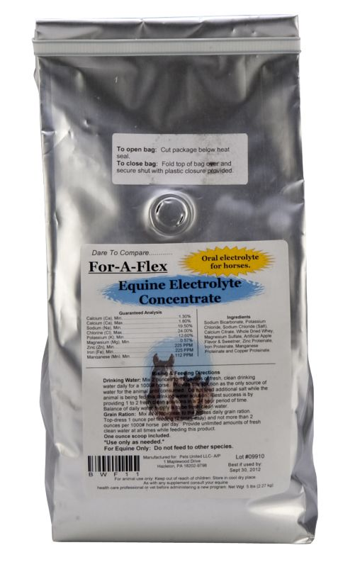 For-A-Flex Electrolyte Concentrate 40lb Best Price