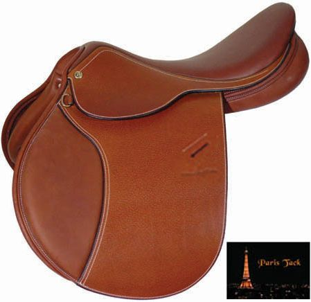 Paris Tack Lafitte Close Contact Saddle 17 R