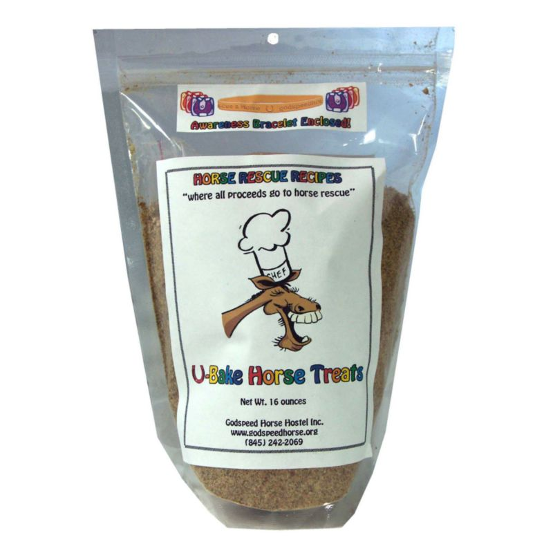 Create a simple and delicious snack for your horse with U-Bake Horse Treats,