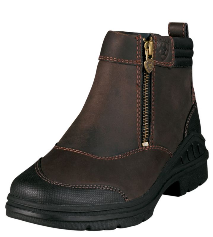 Ariat Ladies Barnyard Side Zip Boots