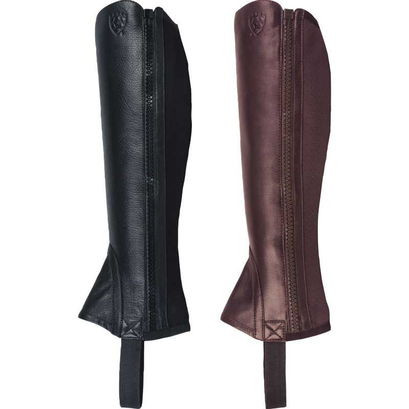 Ariat Breeze Half Chaps Med Tall Chocolate