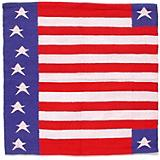Patriotic American Flag Western Saddle Blanket