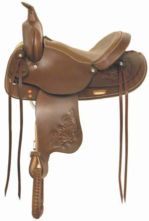 American Saddlery Country Flex Trail Saddle 15IN