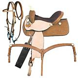 American Saddlery Turn Burn Barrel Saddle Pkg