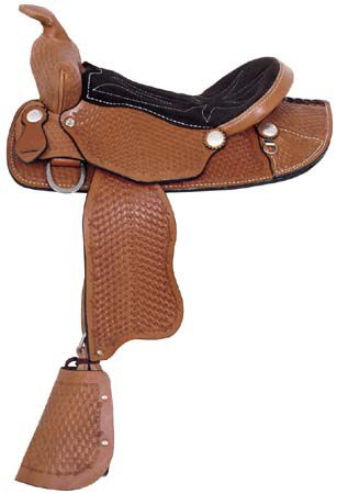 American Saddlery Little Buckaroo Pony Saddle
