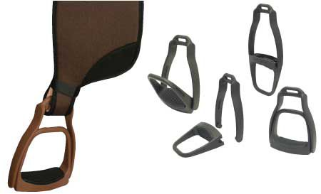 Breakaway Stirrups Brown Medium
