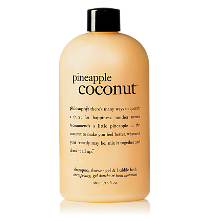 pineapple coconut shower gel | shampoo, shower gel & bubble bath | philosophy
