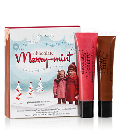 Philosophy Mint and Merry Lip Shine Duo