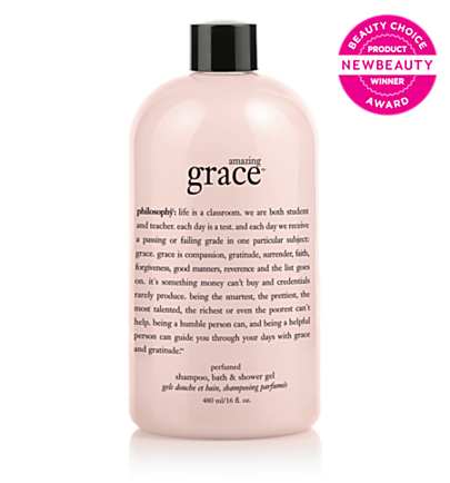 perfumed shampoo, bath & shower gel  - amazing grace - bath & shower gels 16 oz.