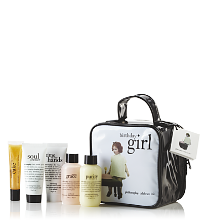philosophy the birthday girl 5piece gift set