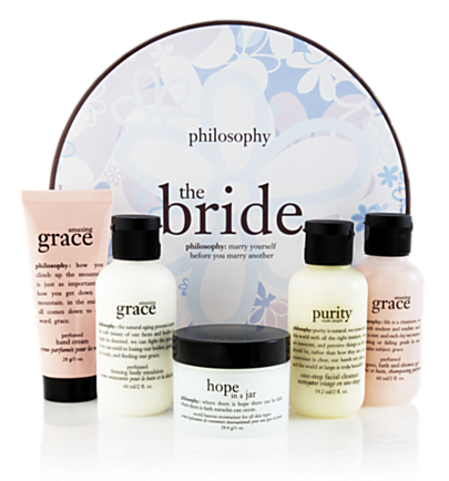 hope, purity and grace gift set - the bride gift set - 3 for $33 5 pc.  philosophy