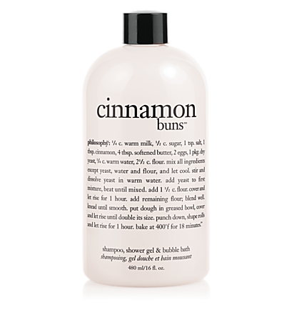 shampoo, shower gel & bubble bath - cinnamon buns - bath & shower gels 16 oz.