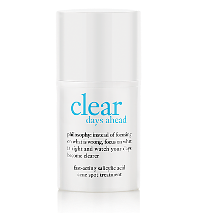 fast-acting salicylic acid acne spot treatment - clear days ahead - clear days ahead