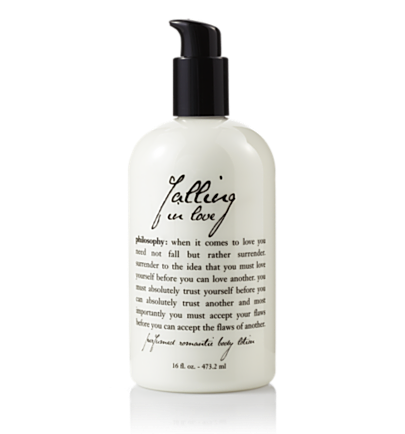 perfumed body lotion - falling in love - body moisturizers 32 oz.