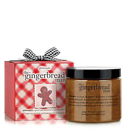 ginger hot salt body scrub - the gingerbread man - body scrubs & treatments 23 oz.