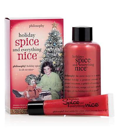stocking stuffer - holiday spice - $25 and under 2 pc.