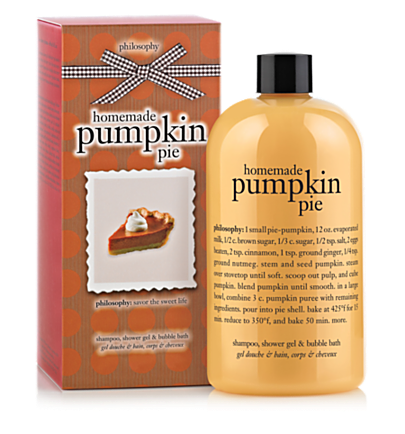 shampoo, shower gel & bubble bath - homemade pumpkin pie - bath & shower gels 16 oz.