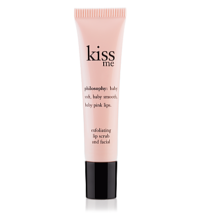 exfoliating lip scrub - kiss me - eye & lip care