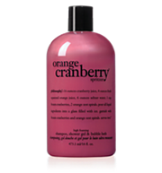 orange cranberry spritzer shower gel
