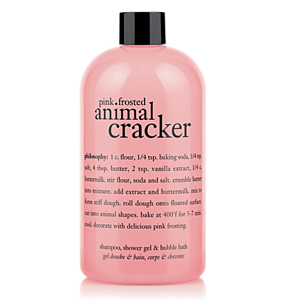 shampoo, shower gel & bubble bath - pink frosted animal cracker - bath & shower gels 16 oz.