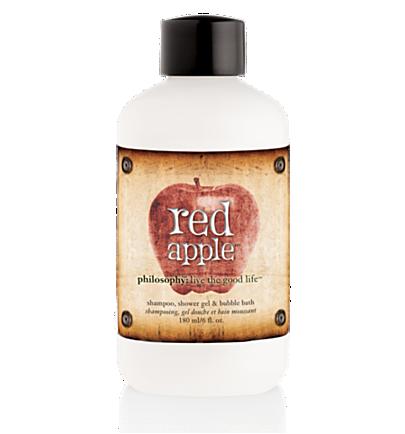 shampoo, shower gel & bubble bath - red apple - bath & shower gels 6 oz.