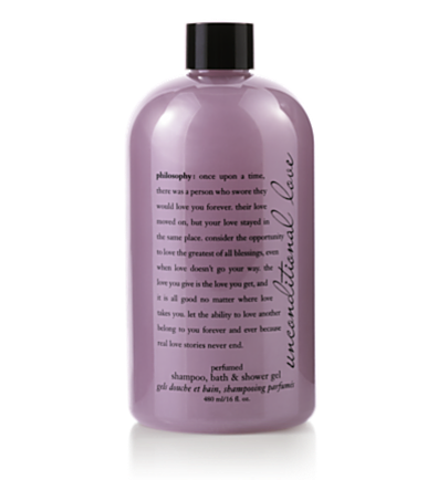 perfumed shampoo, bath & shower gel - unconditional love - bath & shower gels 32 oz.