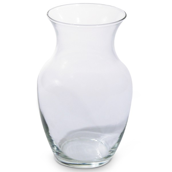 Glass Ginger Vase