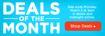 Deals of the Month - Shop Deals »
