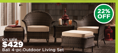 Bali 4-pc. Outdoor Living Set