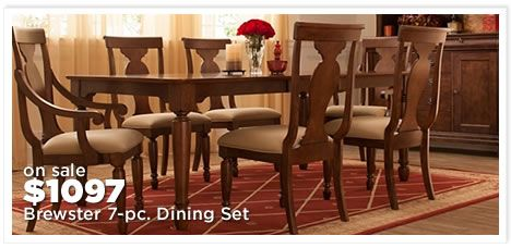 Brewster 7-pc. Dining Set