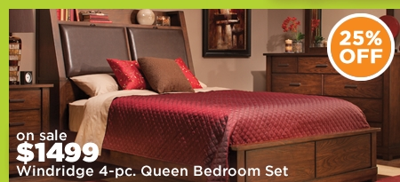 Windridge 4-pc. Queen Bedroom Set