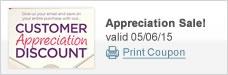 Customer Appreciation Discount Event!