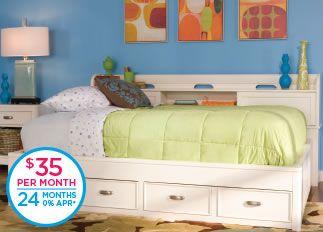 Jayden Twin Storage Bed