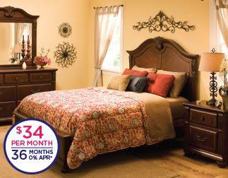 Ashbury Queen Bedroom Set