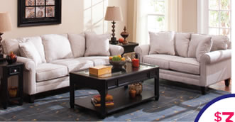 Lizzy Sofa And Loveseat