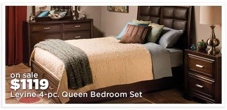 Levine 4-pc. Queen Bedroom Set