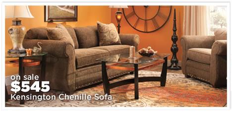 Kensington Chenille Sofa