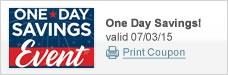 One Day Savings