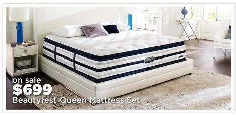 Beautyrest Recharge World Class Queen Mattress Sets