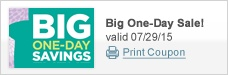 Big One-Day Sale!