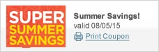 Super Summer Savings Event