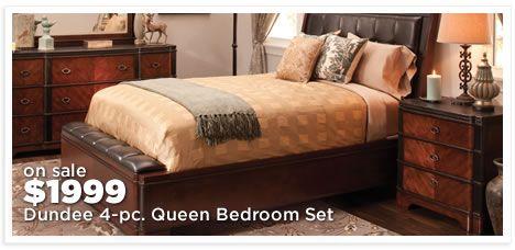 Dundee 4-pc. Queen Bedroom Set
