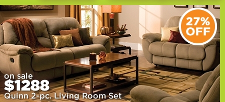 Quinn 2-pc. Living Room Set